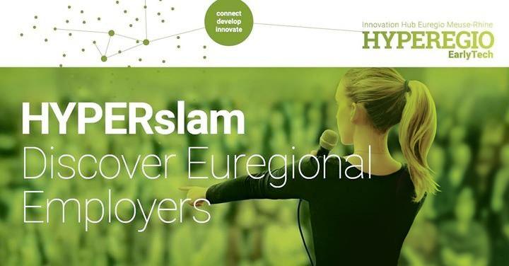 """HYPERSLAM – ENTERTAINING JOB SEARCH AUF DER """"MEET@FH-AACHEN"""""""