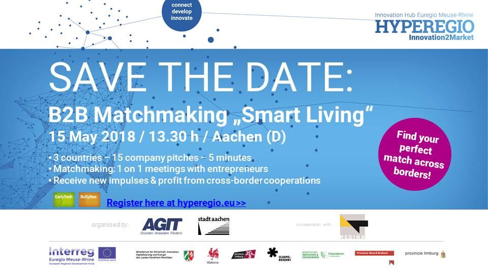 "B2B MATCHMAKING ""Smart Living"" in Aachen"
