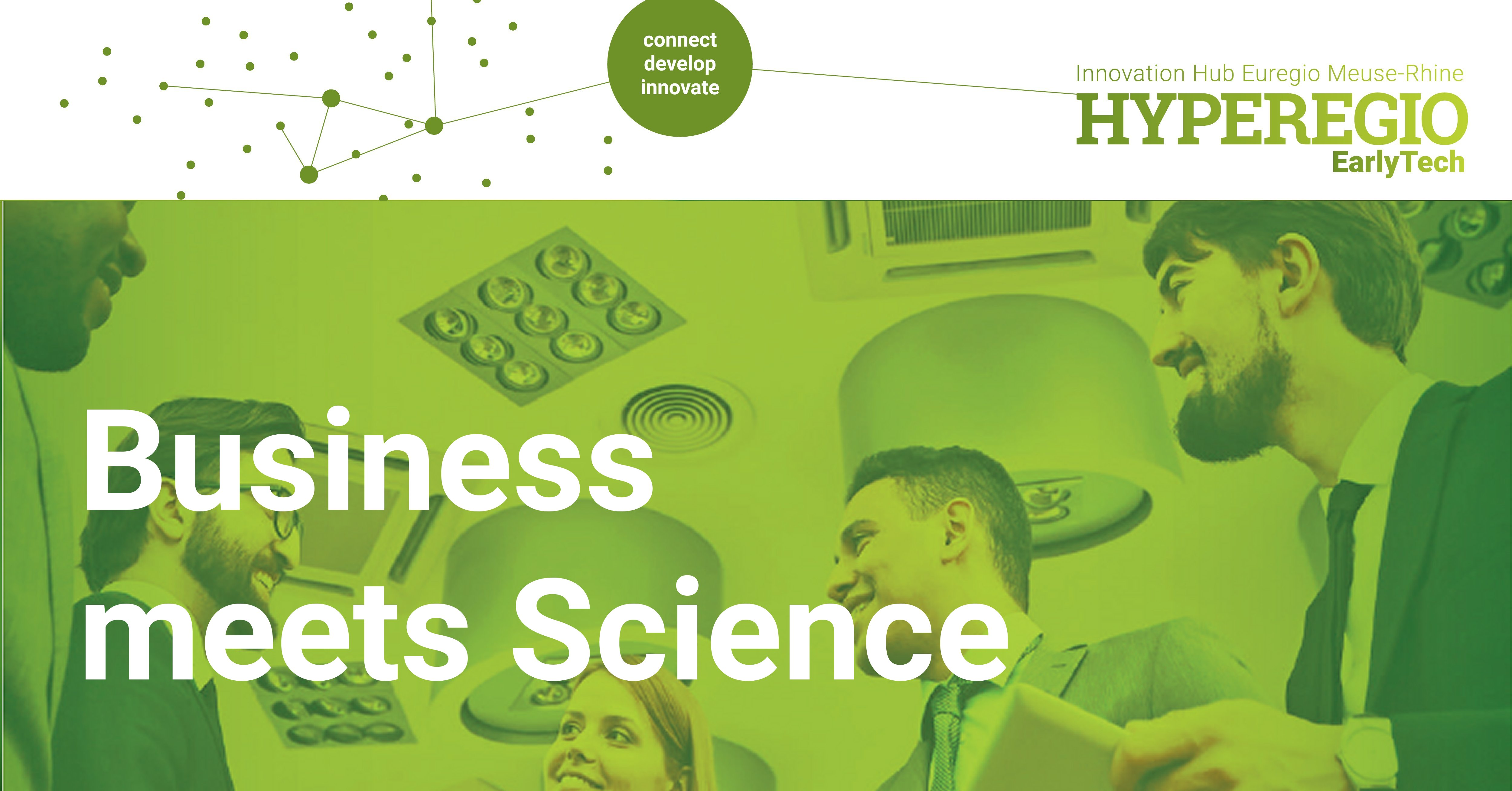 """BUSINESS MEETS SCIENCE """"CHALLENGES FOR A CIRCULAR BUILT ENVIRONMENT"""""""