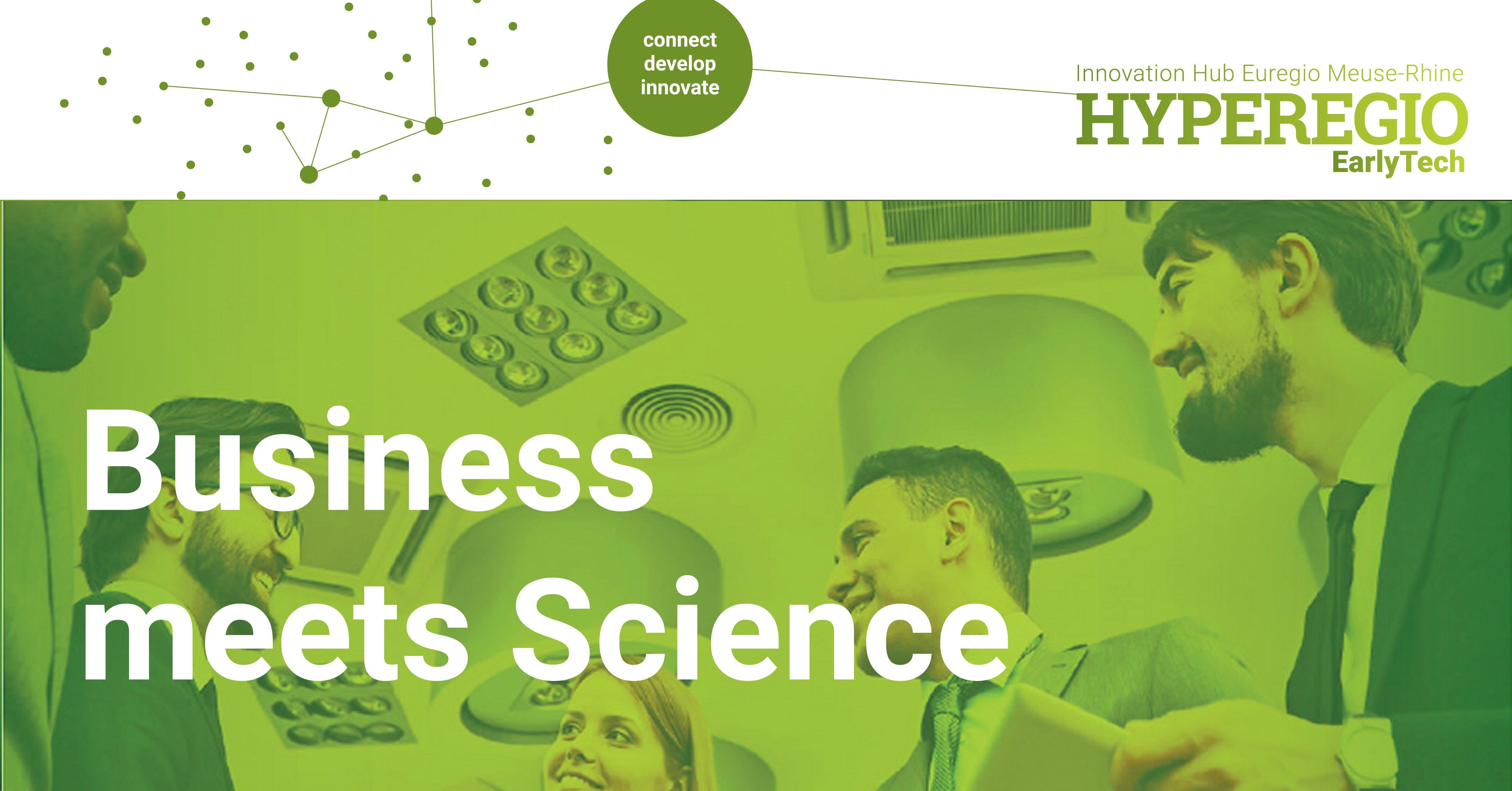 BUSINESS MEETS SCIENCE BEI INSTITUTEN DER FH AACHEN: IaAM & IDA
