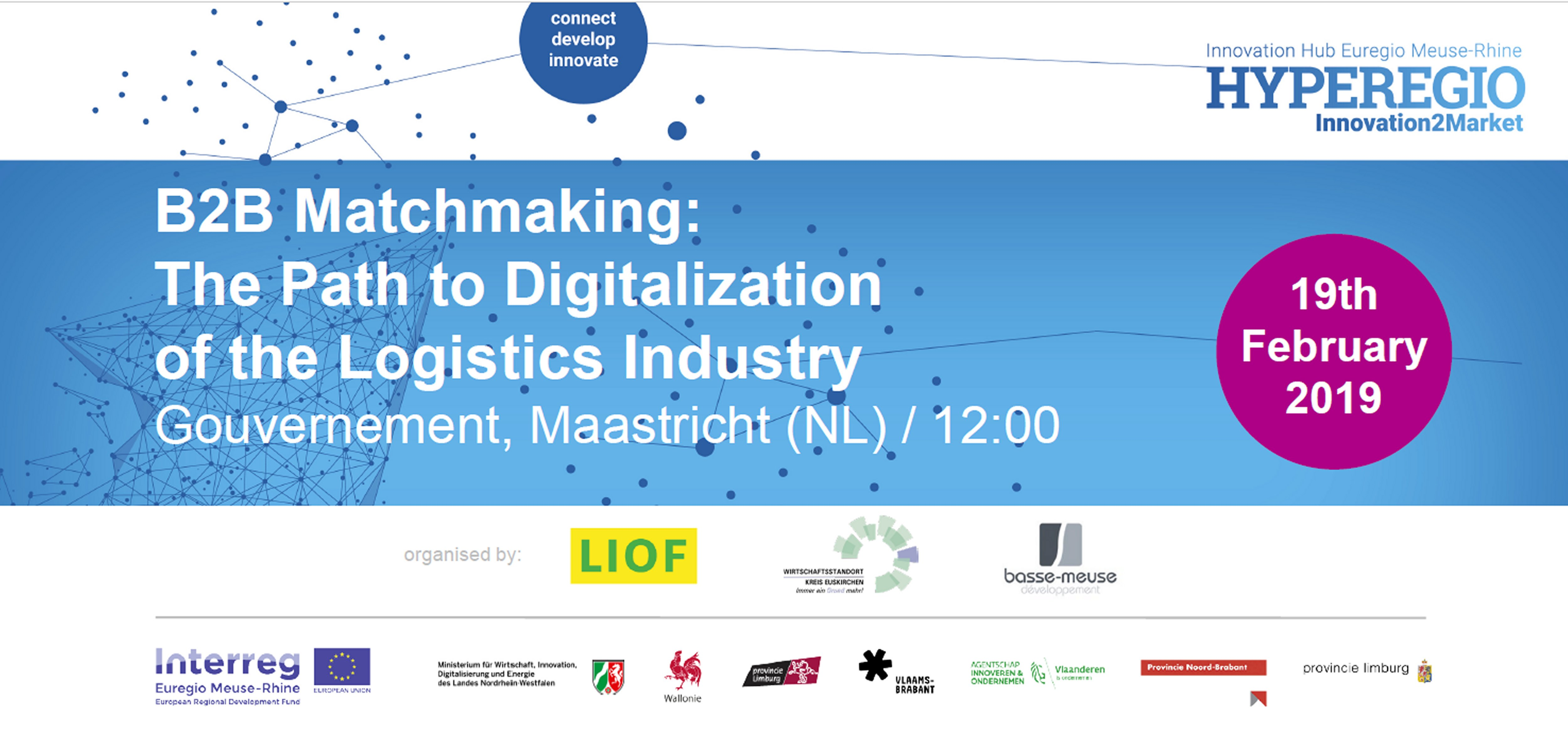 """B2B Matchmaking """"The Path to Digitalization of the Logistics Industry"""""""