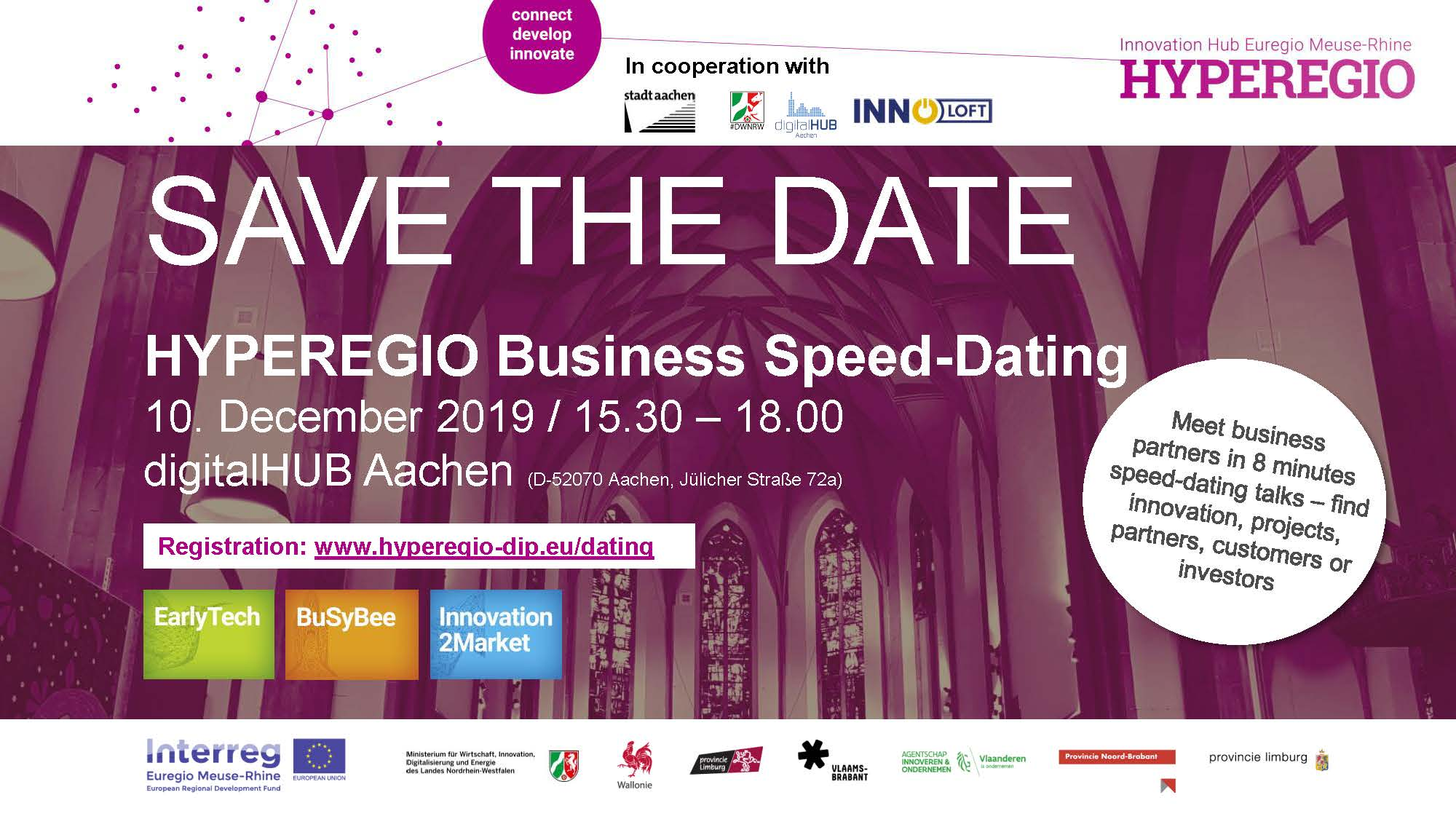 HYPEREGIO Business Speed-Dating